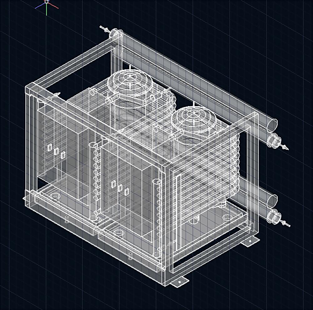Esquema diseño ingeniería Acastimar