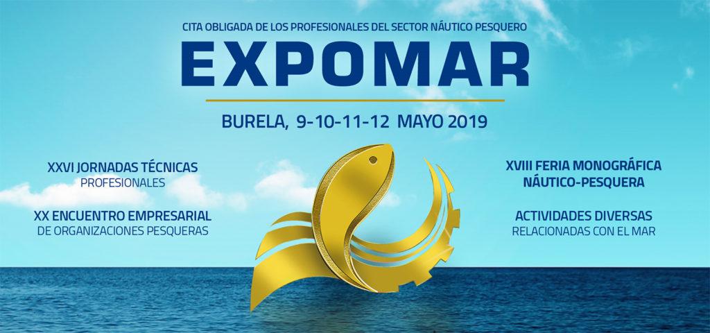 Salones náuticos - Cartel Expomar Burela 2019