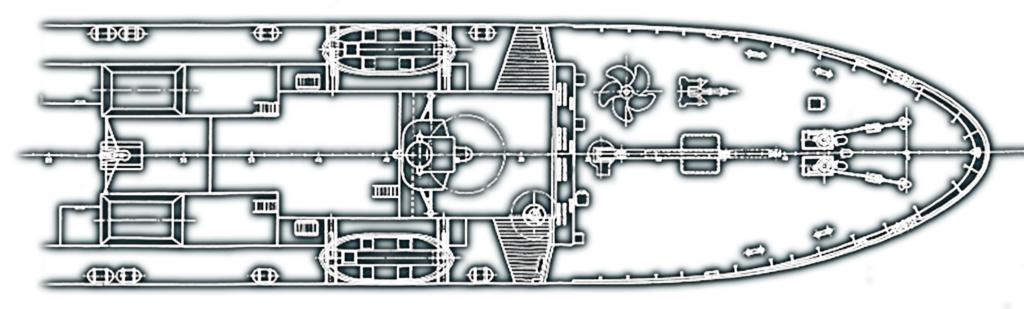 Esquema barco ingeniería Acastimar