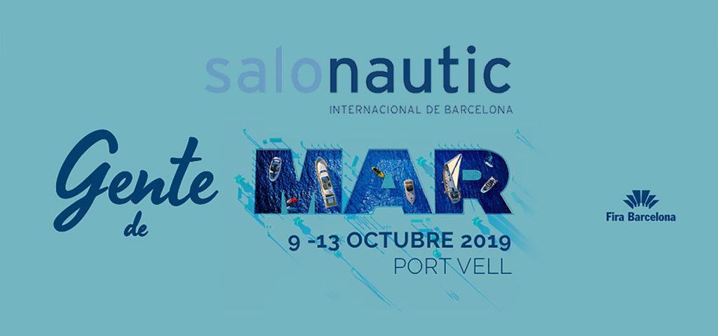 Salones náuticos - Cartel salón náutico Barcelona 2019
