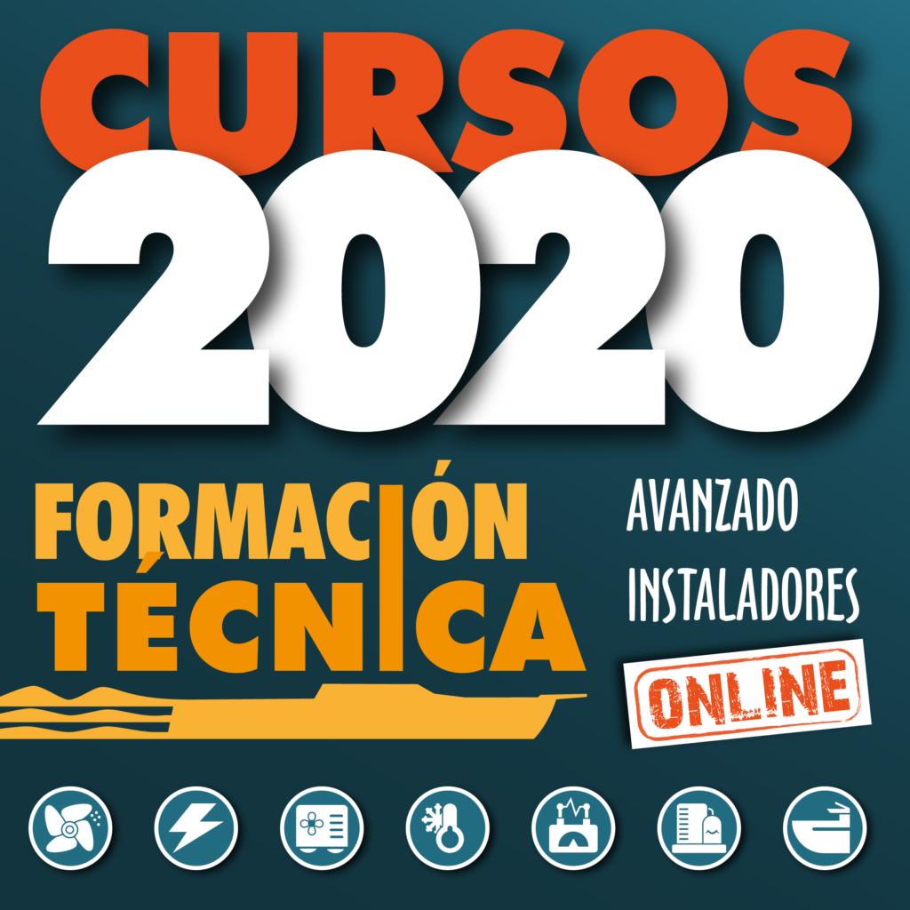 Banner cursos formación online 2020 móbil