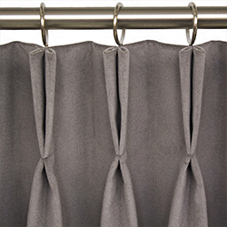 Curtains - plieges doble - pinza - soft furnishings - Dometic - Acastimar