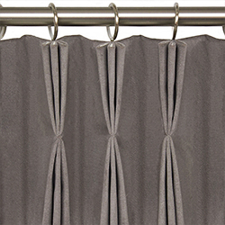 Curtains - plieges triple - pinza - soft furnishings - Dometic - Acastimar