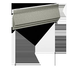 Romanblind - gradient - soft pleat - soft furnishings - Dometic - Acastimar