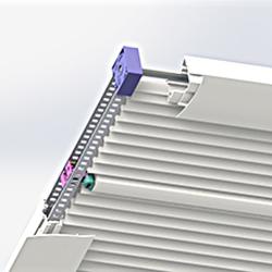 Skysol Powered Roofblind - Belt drive system - Dometic - Acastimar