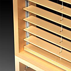 Skyvenetian - Wood - guías - laterales - Dometic - Acastimar